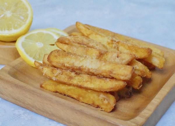 蒜香薯条的做法