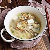 #520,美食撩动TA的心!#花蛤豆腐菇菇汤的做法图解14