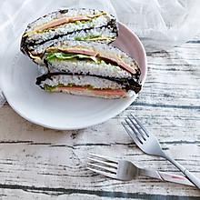 米饭三明治#柏翠辅食节-儿童餐#