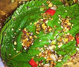 腌苏子叶的做法