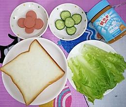 花生酱三明治