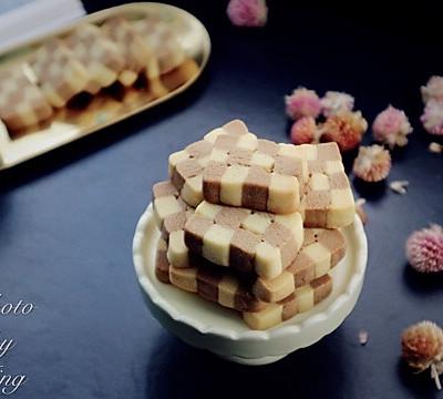 棋子黄油饼干