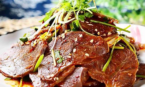 干切牛肉的做法