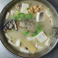 #夏日开胃餐#鲫鱼豆腐汤的做法图解6