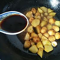 红烧土豆鹌鹑蛋#就是红烧吃不腻!#的做法图解16