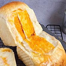 面包日记丨巨好吃‼️咸蛋黄肉松吐司【波兰种】#我要上首焦#