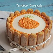 豆果5周年生日蛋糕-6寸#豆果5周年#