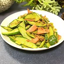 #精品菜谱挑战赛#肉末炒黄瓜