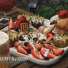 #换着花样吃早餐#春日酸奶燕麦水果沙拉