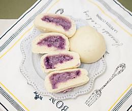 紫薯芋泥包的做法