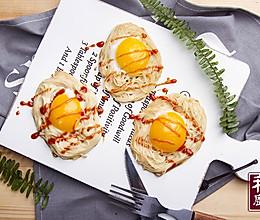 小羽私厨之鸟巢蛋饼的做法