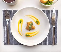 香煎沙巴鱼佐法式黄芥末酱的做法