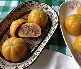 南瓜型馅饼的做法