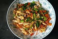 #回忆妈妈的菜#炒虾米的做法