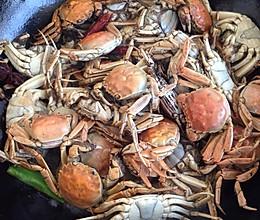 水煮小河蟹的做法