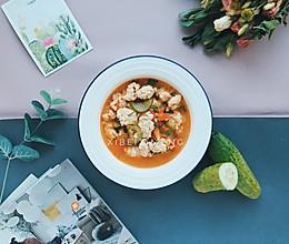 #硬核菜谱制作人#番茄鸡肉丸子汤的做法