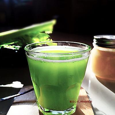 【消脂清热翠汁饮】