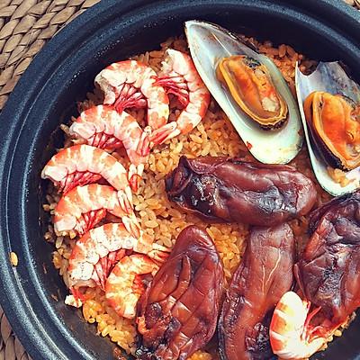 暖暖海鲜饭