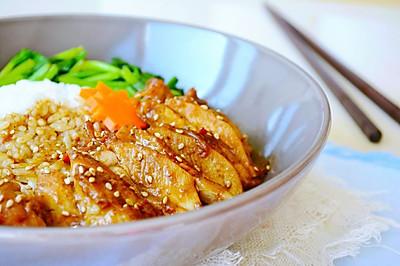92期【秘制沙茶鸡腿饭】好吃又营养,简单还兼具颜值的便当~