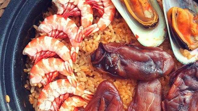 暖暖海鲜饭的做法