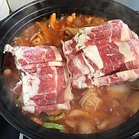 厨房小白做大餐/韩式泡菜火锅的做法图解6