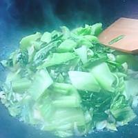 #精品菜谱挑战赛#盖菜炒虾米+春天的味道的做法图解8