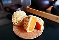 酥皮金沙奶黄月饼的做法