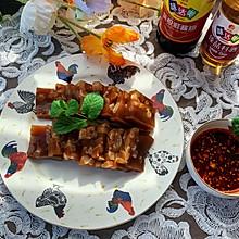 #名厨汁味,圆中秋美味#家常肉皮冻
