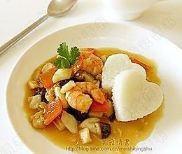 美国地道家常菜——海鲜烩饭的做法