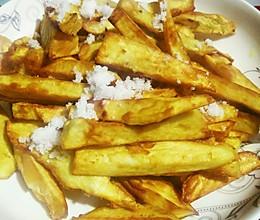 油炸红薯条的做法