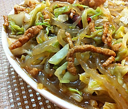 大头菜炒粉条的做法