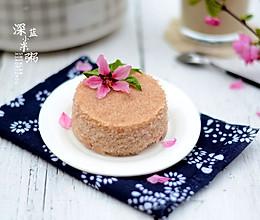 红粳米松糕#浪漫樱花季#的做法