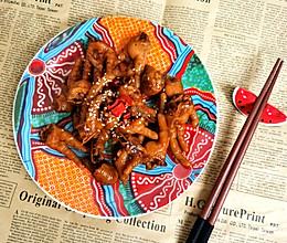 酱焖鸡爪的做法