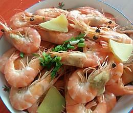 白煮虾的做法