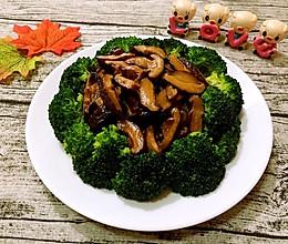 香菇西兰花的做法