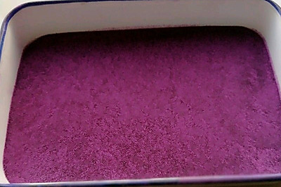 0添加紫薯粉