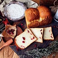 奶香蔓越莓吐司的做法图解12