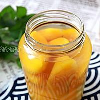 黄桃罐头的做法图解6