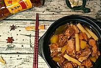 土豆炖排骨年糕#金龙鱼外婆乡小榨菜籽油  我要上春碗#的做法
