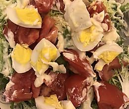 苦菊蔬菜沙拉的做法