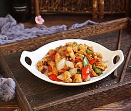 #母亲节,给妈妈做道菜# 鸡肉片炒洋葱的做法