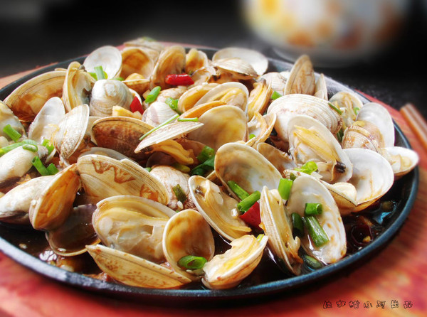 酱汁花蛤--简单易做味道好的做法