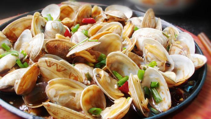 酱汁花蛤--简单易做味道好