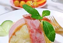 #我们约饭吧#培根土豆蛋的做法