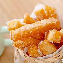 香酥反沙馒头条|脆酥香甜