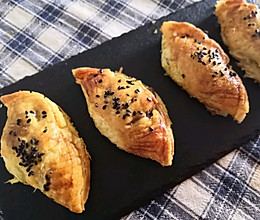 豆沙酥~蛋挞皮版的做法