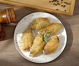盐煎鸡翅的做法