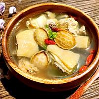 春季养生鲜鲍鱼土鸡汤的做法图解6