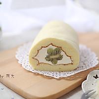 猕猴桃奶油蛋糕卷#柏翠辅食节-烘培零食#