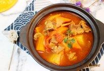 暖胃番茄牛腩汤的做法